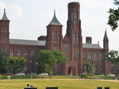 Visit the beautiful and historic Smithsonian Castle on the Mall