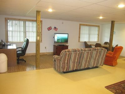 Kunkletown lodge rental - Lower Level - Game Room area