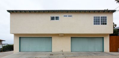 Pacific Beach apartment rental - Parking space provided inside a 2-car garage