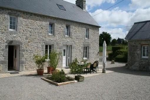 Le Levant ancient farmhouse from 1830 ranked 3 stars in Montchaton - Le Levant