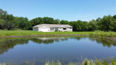 Private Home Located on 60 acres in the Flint Hills on the Verdigris River