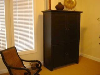 "Wardrobe Armoire with 32"" TV w/DVD player"