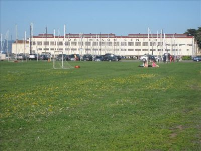 Fort Mason next to Marina green.