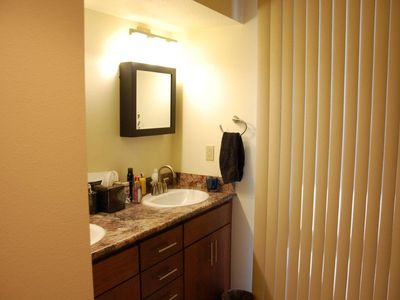 Master Bath with twin Vanities