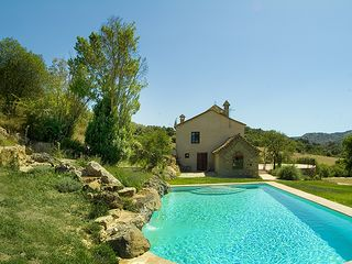 Cortes de la Frontera villa photo - Private pool (10 x 6 meter) Depth between 2.4 and 1 meter