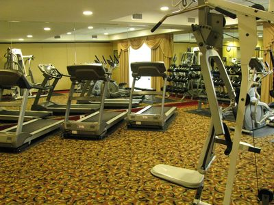 Grand Atlantic condo rental - Fitness Room