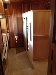Mirror Lake house rental - Sauna Room (room also has a shower)