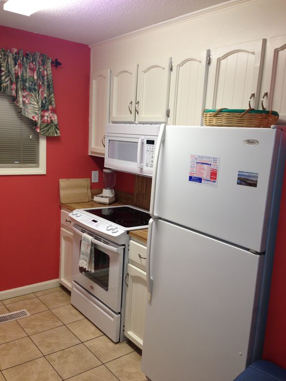 New Appliances - Range & Microwave.