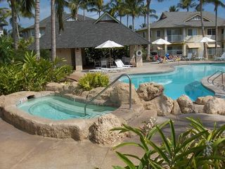 Ko Olina townhome photo - Pool / Jacuzzi / BBQ Area