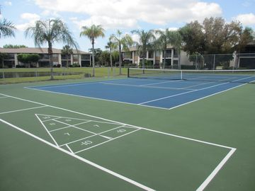 Tennis and Shuffleboard Courts