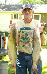 Sandusky cottage photo - Sandusky River Cat Fish