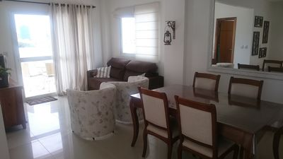 Apartment w / Terrace and Barbecue, 3 blocks from the sea and downtown. .