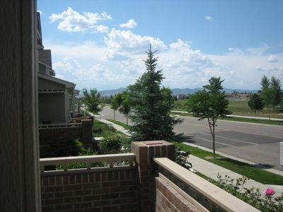 Fort Collins townhome rental - View from the Front Porch
