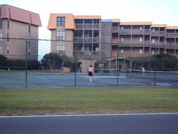 Tennis Courts are located right in front of the building for your enjoyment!