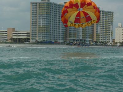 Why not try some Parasailing during your Stay!