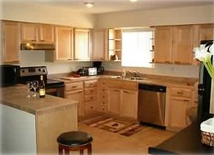 All New Kitchen - Maple Cabinets, Stainless Appliances, & Breakfast Bar
