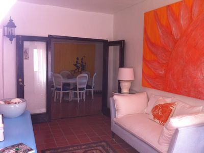 Rio Grande villa rental - Stylish Living-Porch Room