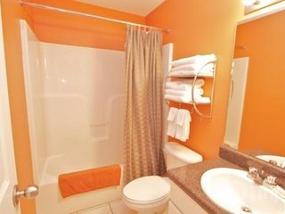 Orange Beach condo photo - Master bathroom with a hair dryer