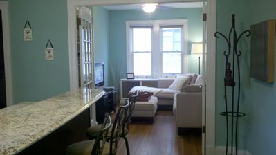 Charming condo w/parking in the city's finest neighborhood