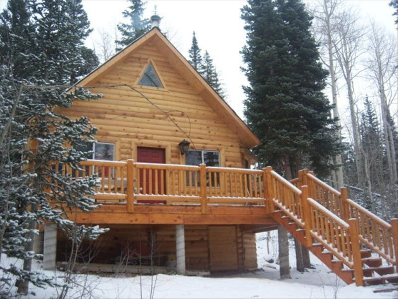 Cozy cabin in the woods vrbo for Cabin rentals vicino a brian head utah