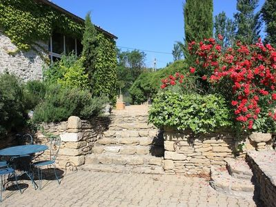 Saint-Paulet farmhouse rental - Steps to Grand Salon Terrace
