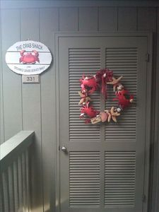A Place at the Beach condo rental - Welcome Ya'll , to the Crab Shack! Your home away from home is ready!