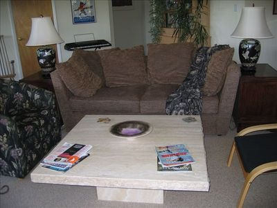 Attractively furnished