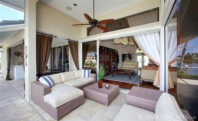 Vacation Homes in Marco Island house rental - Lounging at Channel Court Doesn't Come any Better!