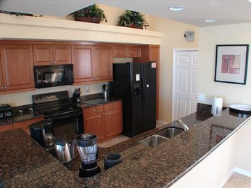 Designer- styled fully-equipped kitchen