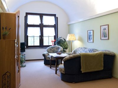 Goslar castle rental - Burggräfin, living room