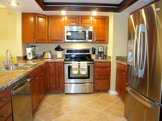 Indian Rocks Beach condo photo - Remodeled kitchen - filtered water & state of the art appliances