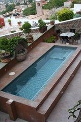 San Miguel de Allende house photo - Pool on Terrace Level