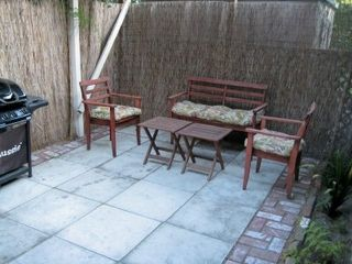 Los Angeles cottage photo - Private Back Patio w/ Barbeque