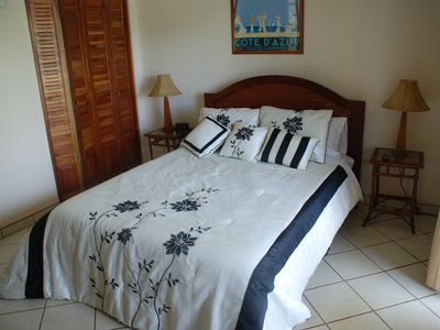 One of the Casita's Two Queen Bedrooms