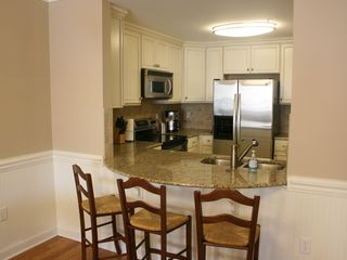 Tybee Island condo photo - Barstools provided