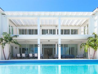 Providenciales - Provo villa photo - Azure Villa , standing with the ocean behind me