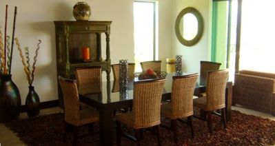 Spacious Dining Areas w panoramic ocean views