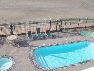 Wildwood Crest condo photo - The pool, hot tub spa, and kiddie pool