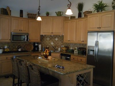 Kitchen/Commercial grade appliances and granite counter tops