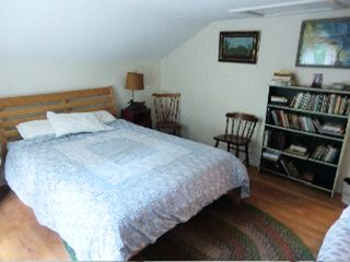 Great Barrington house photo - main bedroom, queen sized bed bed and single bed