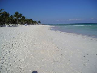 Tulum house photo - Miles and miles of secluded beach