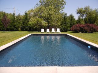 Water Mill house photo - 20x40' heated pool on 1 acre property