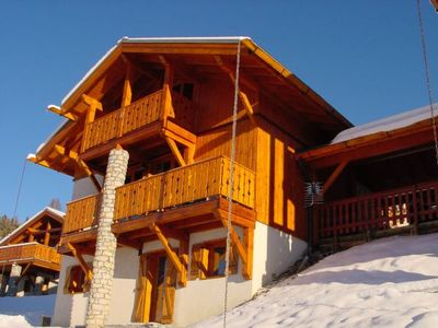 Comfortably furnished chalet with a beautful view, in Paradiski