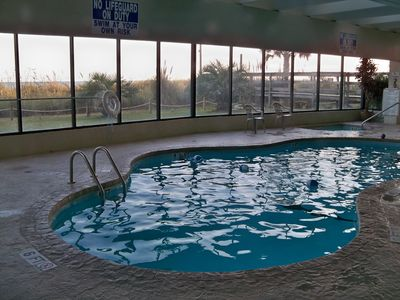 Windy Hill condo rental - Indoor pool and hot tub