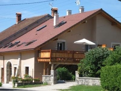 Houses 3 * chalet style at Lake Chalain in the Jura - 4/6 and 6/8 sleeps