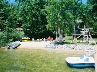 Gorgeous Sandy Lake, Boating/Fishing/Swimming Family Fun! - Interlochen house vacation rental photo