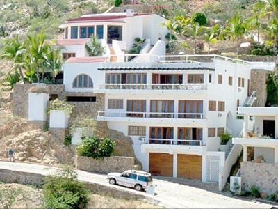 Six level villa in the Pedregal area of Cabo San Lucas
