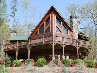 Blue Ridge cabin photo - Tuckaway Ridge - the best rental in Blue Ridge! Check out our website to see!