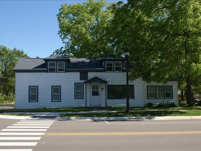 Build in 1859 with the best location in Elk Rapids.