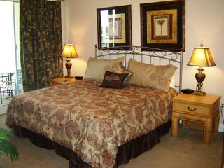 Destin condo photo - The Master Bedroom - King Bed with tempurpedic and Ocean View